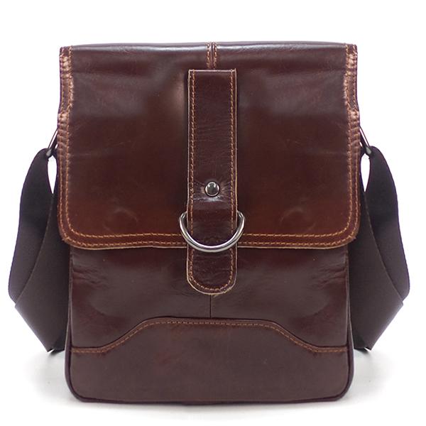 Мужская сумка Borgo Antico. Кожа. 3683 brown
