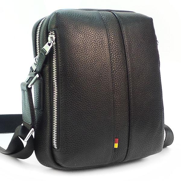 Мужская сумка Borgo Antico. Кожа. 5028 black