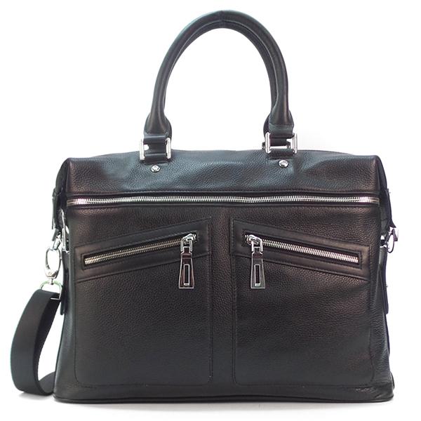 Мужская сумка Borgo Antico. Кожа. 545 black