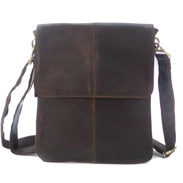 Мужская сумка Borgo Antico. Кожа. 579 coffee