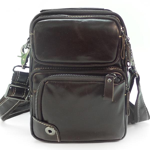Мужская сумка Borgo Antico. Кожа. 6008 brown