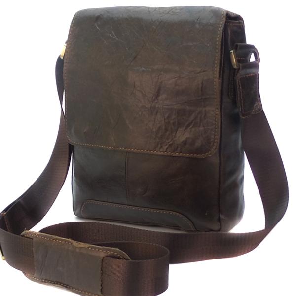 Мужская сумка Borgo Antico. Кожа. 6010 coffee