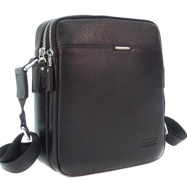 Мужская сумка Borgo Antico. Кожа. 86278-3 black