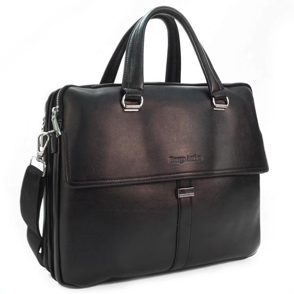 Мужская сумка Borgo Antico. 8658-2 black