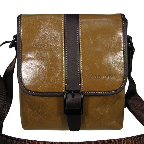 Мужская сумка Borgo Antico. Кожа. 89067-1 khaki