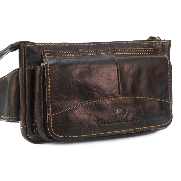 Поясная сумка Borgo Antico. Кожа. 9015/20811 brown BA