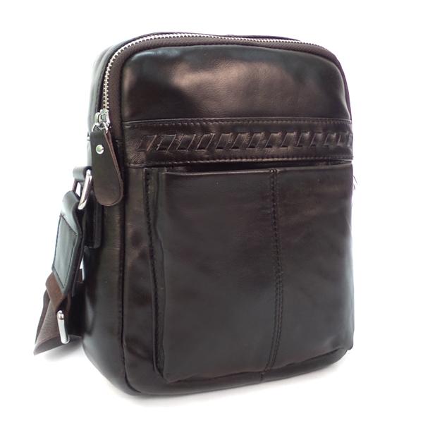 Мужская сумка Borgo Antico. Кожа. 9101 brown