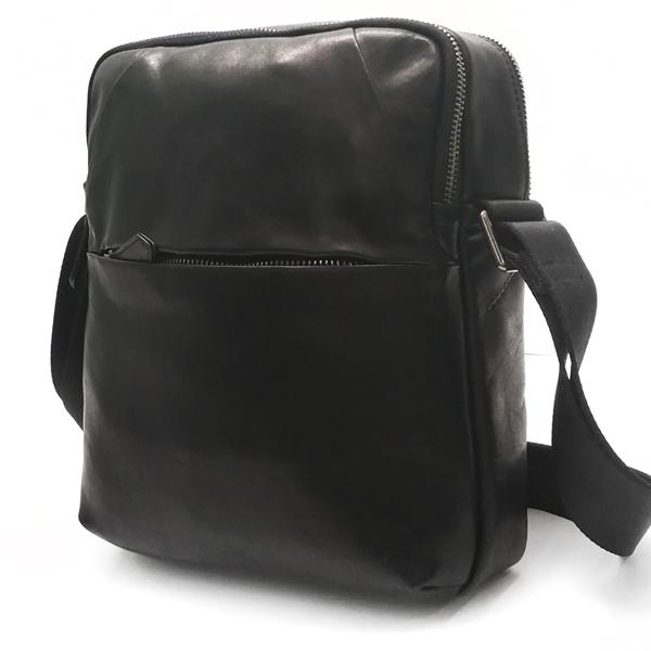 Мужская сумка Borgo Antico. Кожа. F38-2 black