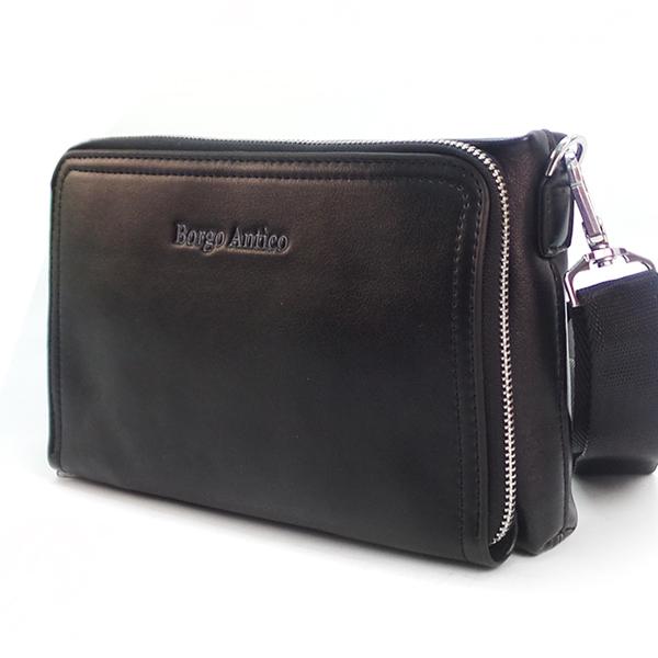 Мужская сумка Borgo Antico. SH 201-1 black