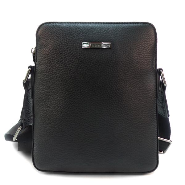 Мужская сумка Borgo Antico. Кожа. 1800-1 black