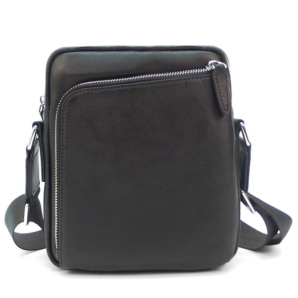 Мужская сумка Borgo Antico. Кожа. 1815-1 black NN