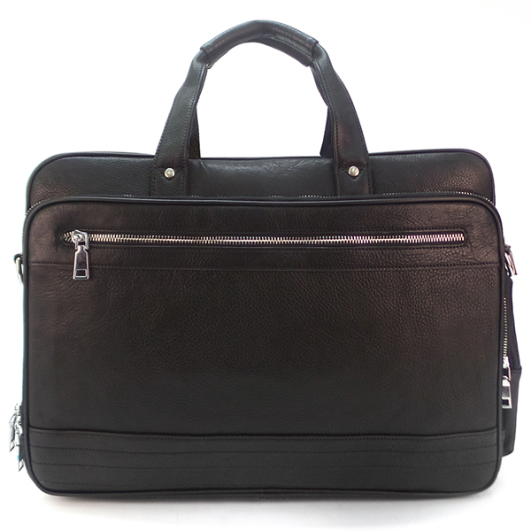 Мужская сумка Borgo Antico. Кожа. 2019 black