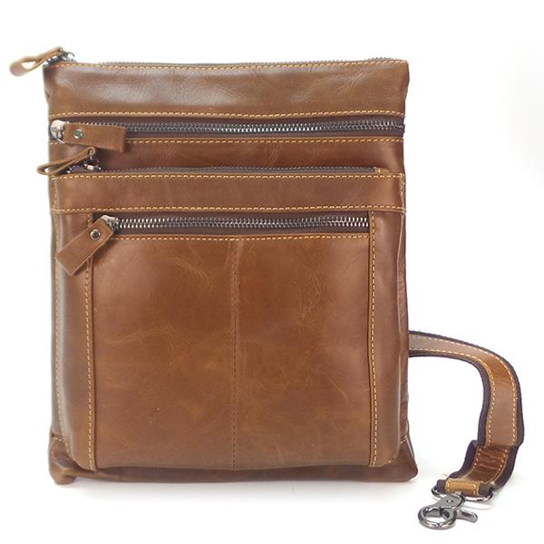Мужская сумка Borgo Antico. Кожа. 309 brown