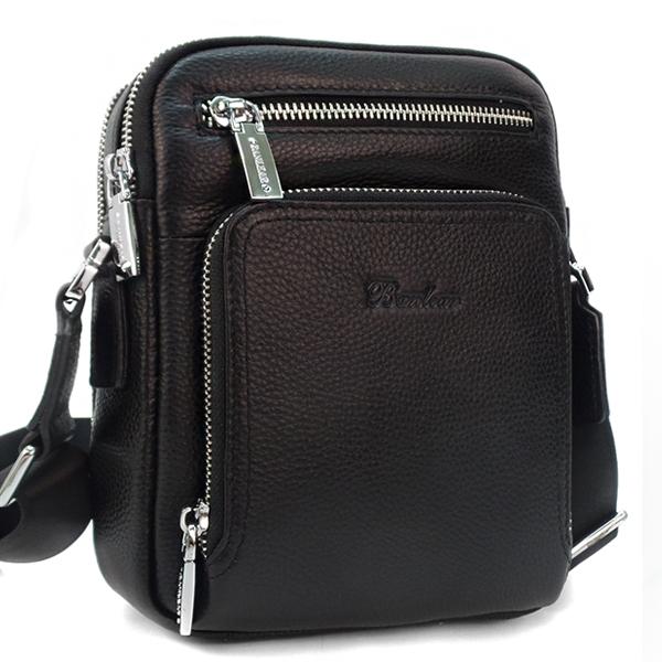Мужская сумка. Кожа. 3533-3 black