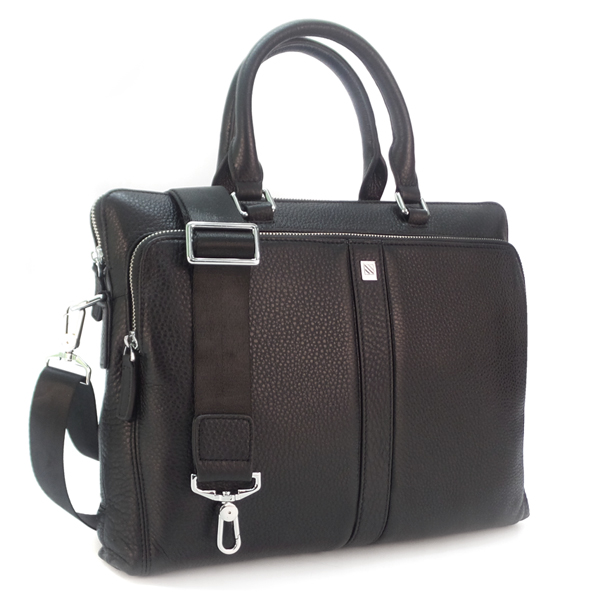 Мужская сумка Borgo Antico. Кожа. 4887-3 black