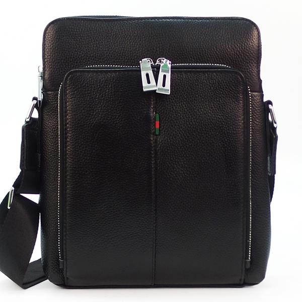 Мужская сумка Borgo Antico. Кожа. 59361 black