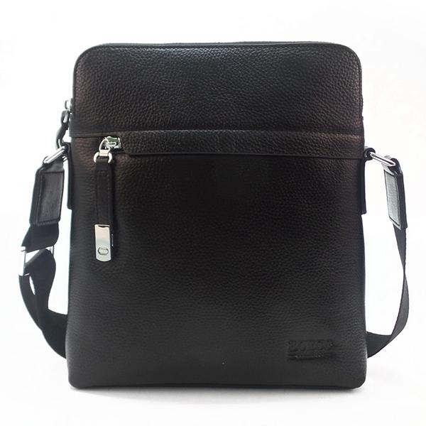 Мужская сумка Borgo Antico. Кожа. 59671 black