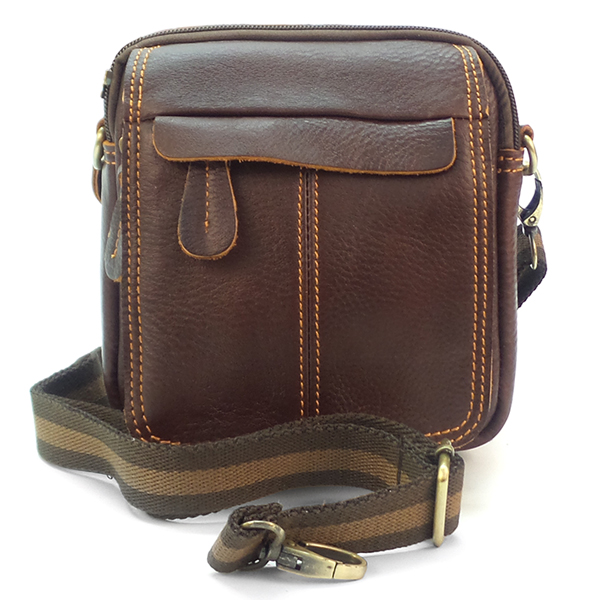 Мужская сумка Borgo Antico. Кожа. 662 brown