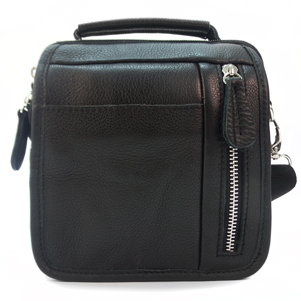 Мужская сумка Borgo Antico. Кожа. 679 black