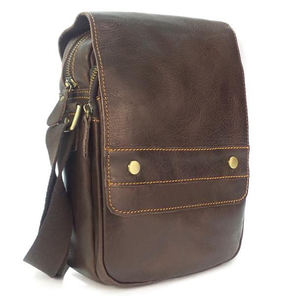 Мужская сумка Borgo Antico. Кожа. 7015 brown