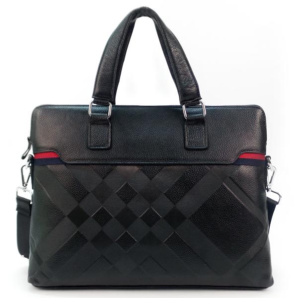 Мужская сумка Borgo Antico. Кожа. 7040 black NN