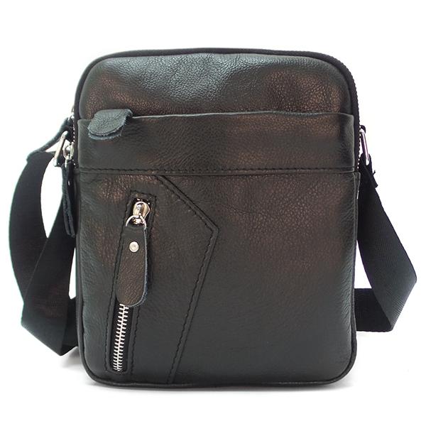 Мужская сумка Borgo Antico. Кожа. 8018 black