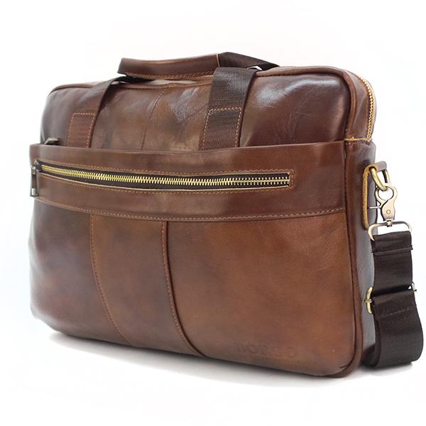 Мужская сумка Borgo Antico. Кожа. 9022 coffee