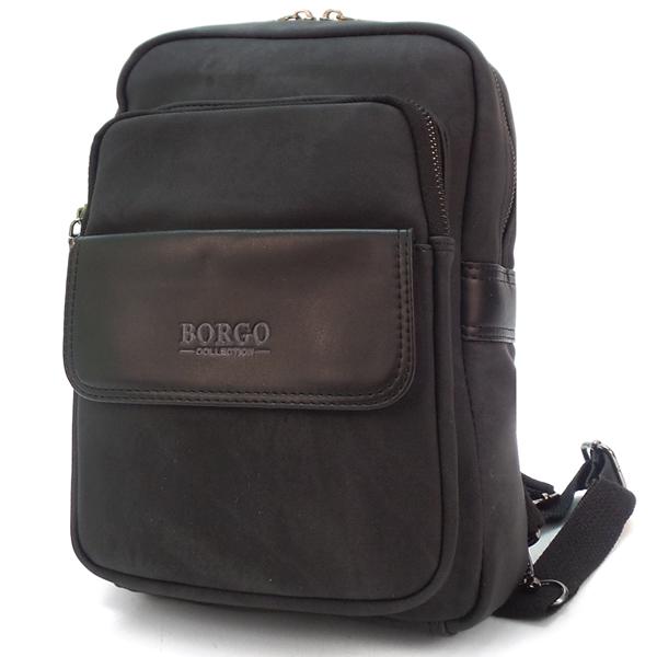 Мужской рюкзак Borgo Antico. A8 black