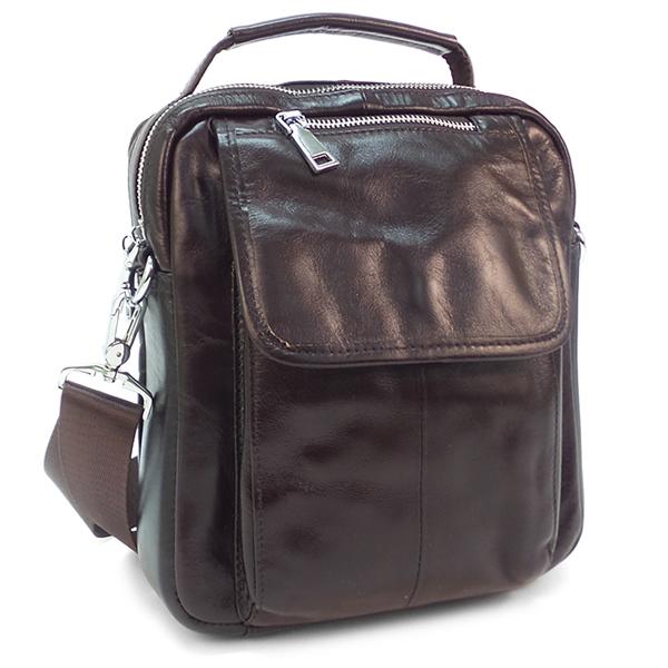 Мужская сумка Borgo Antico. Кожа. B 579 brown NN