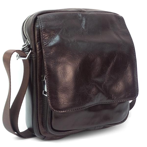 Мужская сумка Borgo Antico. Кожа. B 587 brown NN