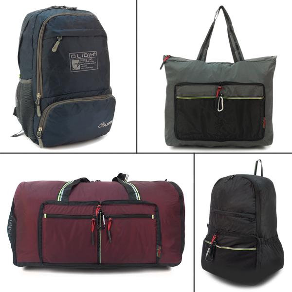 Складные сумки и рюкзаки.