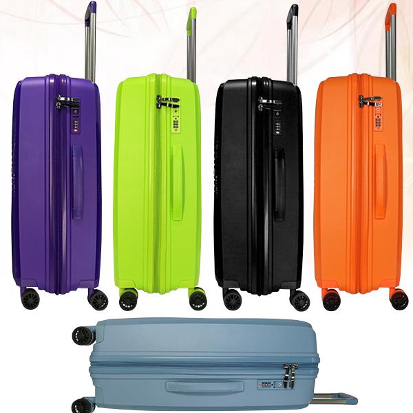Неубимаемые пластиковые чемоданы