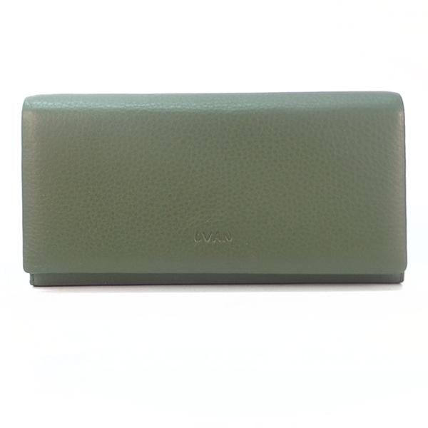 Кошелек Lvan. Кожа. 06-221-83 green