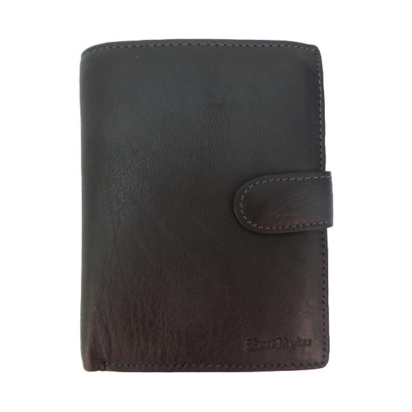 Кошелек+обложка для паспорта Ruff Ryder. Кожа. 38129 MP brown