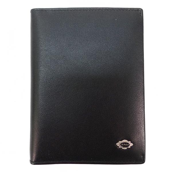 Обложка для паспорта и автодокументов. Кожа. B 068-898 black