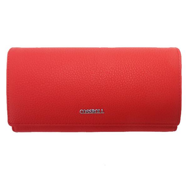 Кошелек Cossroll. B 118-207-1/A 107-1 red