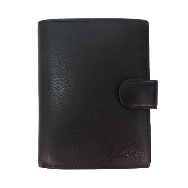 Кошелек + автодокументы + обложка для паспорта BDEK. Кожа. B 808 Q black