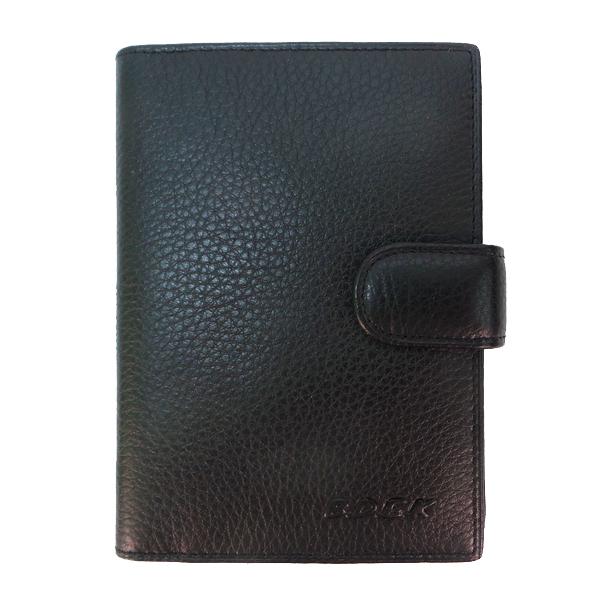 Обложка для паспорта + автодокументы BDEK. Кожа. B 817 Q black