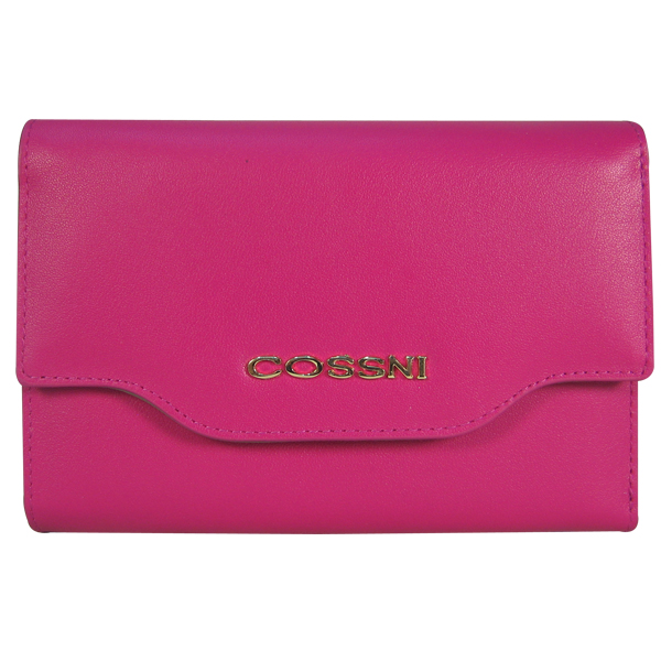 Кошелек Cossni. Кожа. CS0171 plum purple