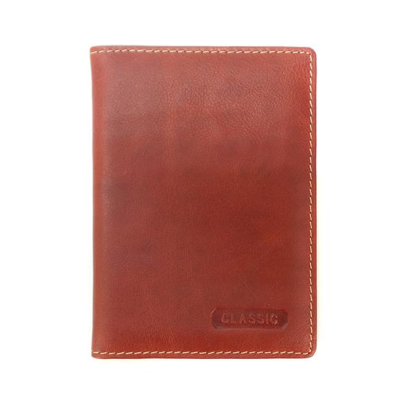 Обложка для паспорта Classic. Кожа. DF 5011 O