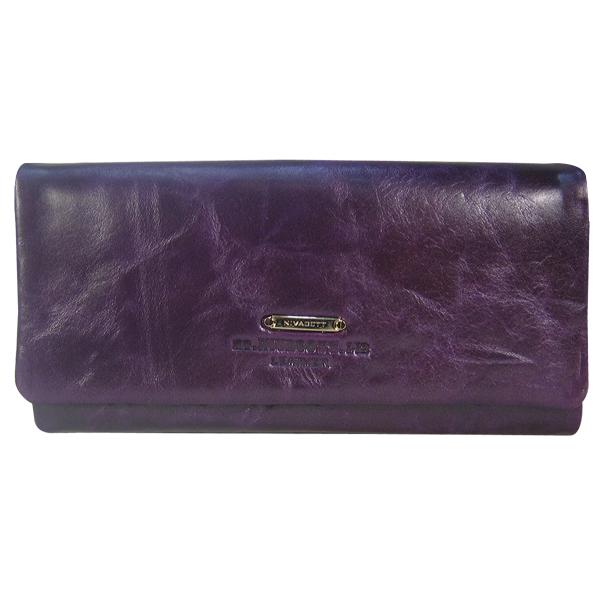 Кошелек Nivacott. Кожа. N138A purple