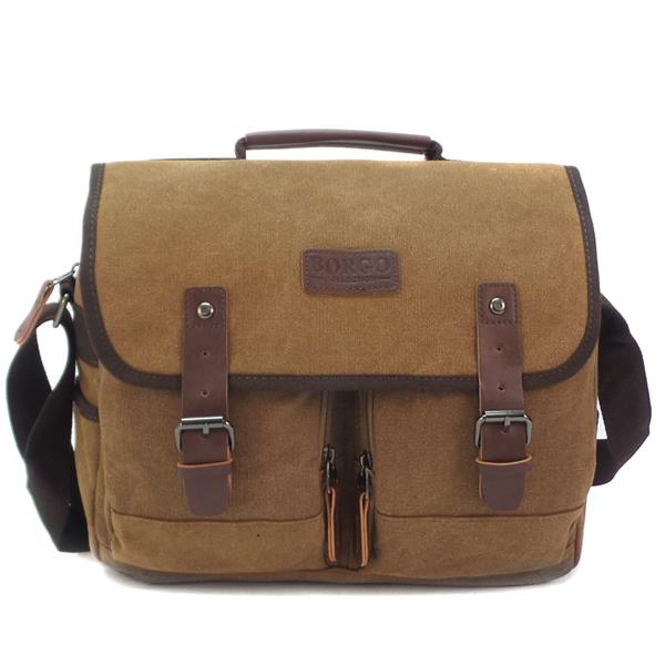 Мужская сумка Borgo Antico. 86841/66841 coffee