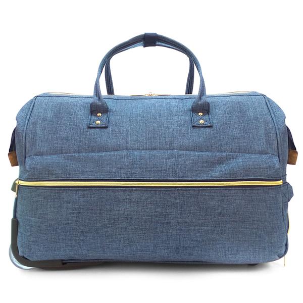 Дорожная сумка на колёсах Borgo Antico. 189 deep blue