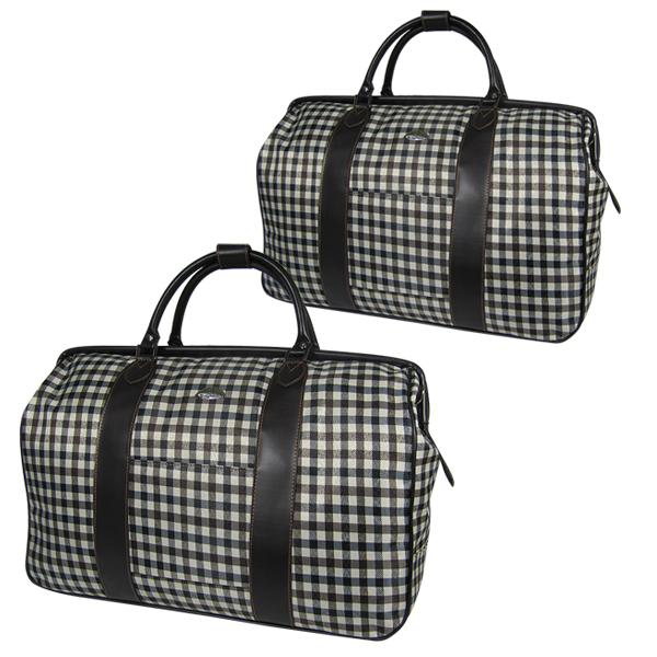 Комплект дорожных сумок Borgo Antico. 2110+2116 big check