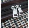 Комплект дорожных сумок Borgo Antico. 2110+2116 small check