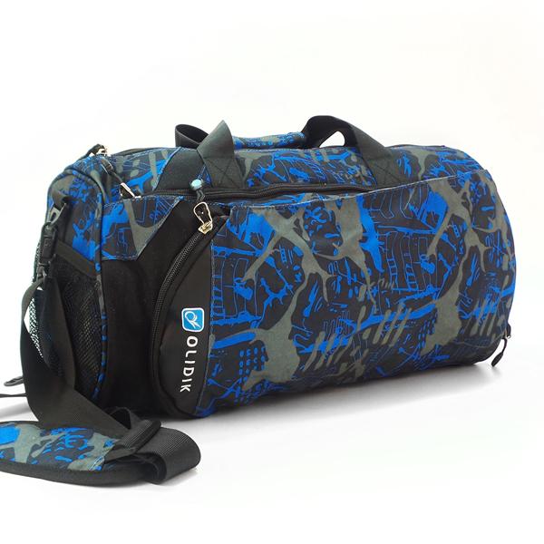 Дорожная сумка Olidik. 2880 camouflage blue