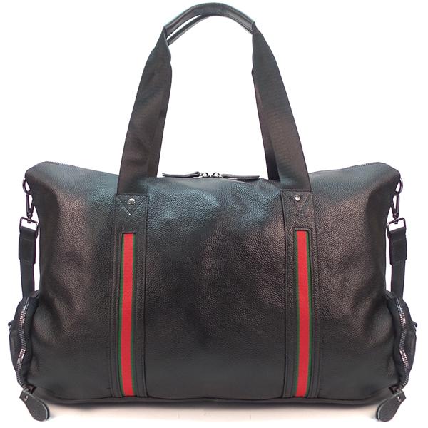 Дорожная сумка Borgo Antico. Кожа. 8860 black