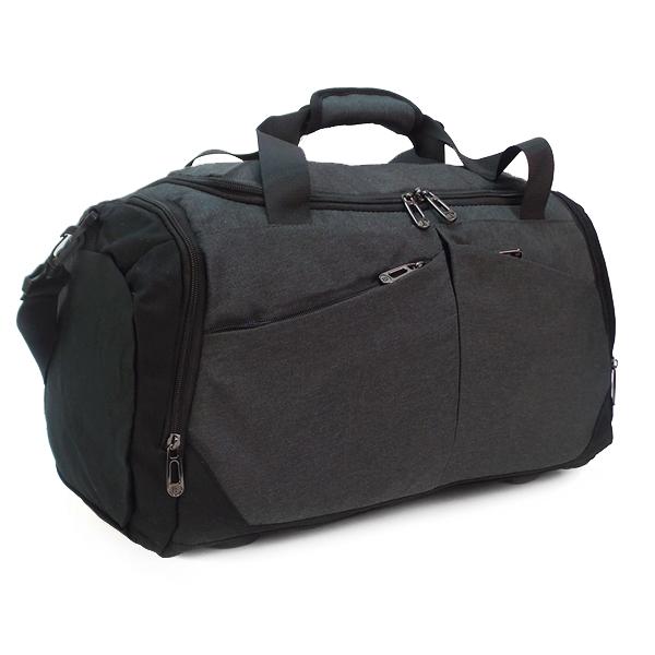 Дорожная сумка Borgo Antico. 9028/9013 d.grey