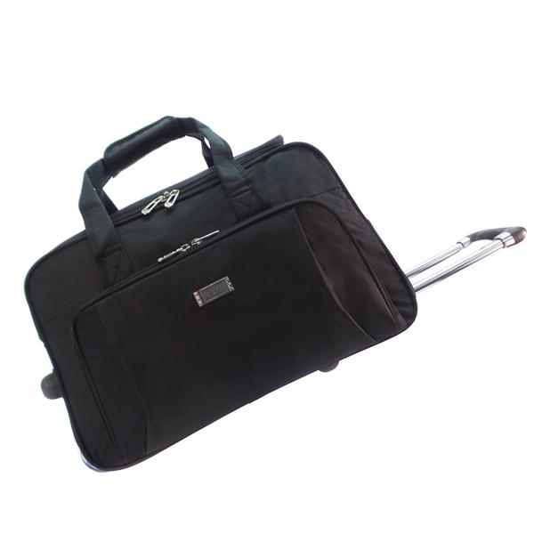 Дорожная сумка на колёсах. 06062 black