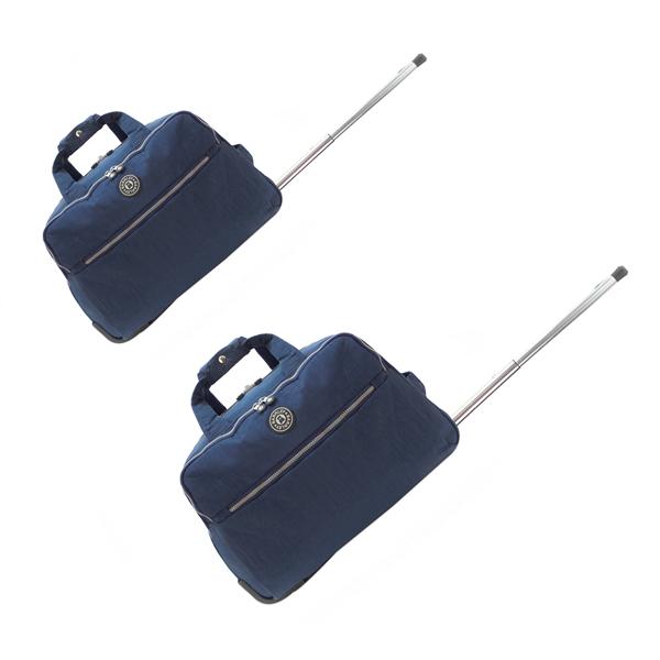 Комплект дорожных сумок на колёсах. 139 nabor blue (20/22)